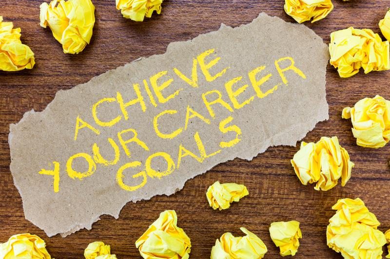dreamstime_s_130320892 - Career Goals